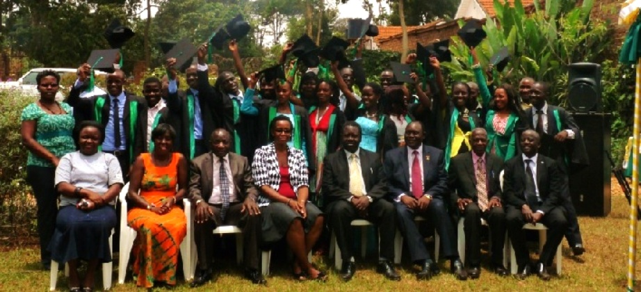 CIDI's school of gardening and landscaping was celebrating the graduation of 18 students, who have successfully graduated with a diplomaIDI's school of gardening and landscaping was celebrating the graduation of 18 students, who have successfully graduated with a diploma